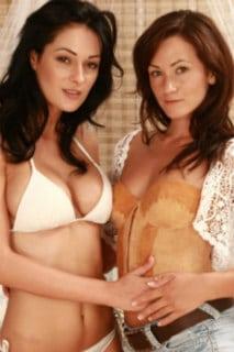 Sarah and Becky